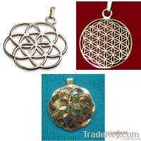 Mistic simbol and talisman jewelry