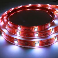LED Strip Light, maade of SMD5050 or 3528 LED. Flexible or Hard Design