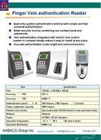 Finger Vein Authentication System