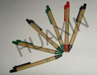 Recycled paper ball pen
