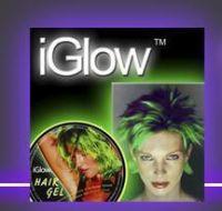 iGlow in the Dark Party Hairgel