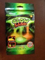 GLOW SAND DISTRIBUTORS WANTED NEW NOVLETY TOY PRODUCT GLOW IN THE DARK CREATES ITS OWN LIGHT GLOWS FOR HOURS NO UV OR BLACKLIGHT