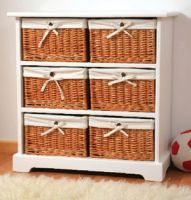 Cabinet & Willow Basket