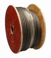 GALVANIZED, UNGALAVNIZED/PLASTIC COATED STEEL WIRE ROPE (DIA. 1.5mm-60m