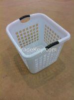 Plastic Laundry Basket 16002