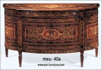 Luxurious Italian Florence Style Marquetry Commode