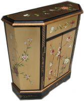 lacquer  cabinet, oriental cabinet