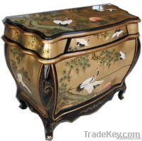 Antique reproduction furniture cabinet