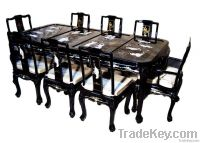lacquer furniture Dining table set