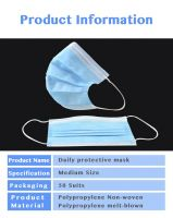 3-Ply Face Mask Disposable 50Xpm2.5