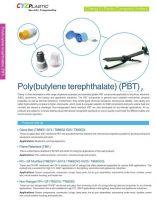 PBT, GF PBT, FR PBT, FR + GF Modified PBT, Non-Halogen FR + GF PBT