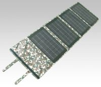40W Portable Folding Solar Panel with mini USB Voltage Controller to charge Laptops and mobilephones and battery chargers
