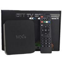 MXQ  ANDROID TV BOX QUAD CORE AMLOGIC S805 CHIPSET 4K CPU SET TOP BOX