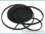 Rubber open end timing belts
