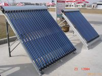 Split Solar Collector Heat Pipe