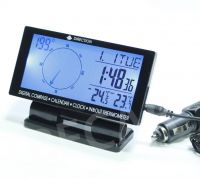 Car digital compass with