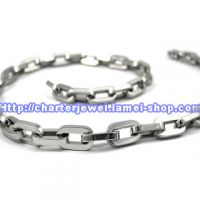 Str_N334_stainless steel necklace