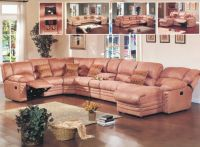 Leather Sofa (B2105#)