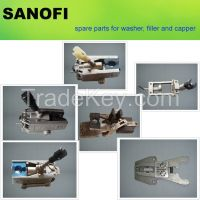 Filling machine parts, filling machine nozzles