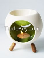 Ceramic Incense Burner-Round Shape