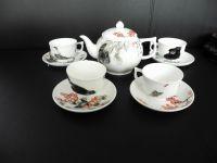 Fine bone china, bone porcelain Chinese teapot sets manufacturer, teapot,cup set