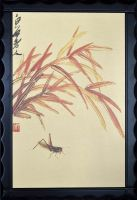 Gold leaf or gold foil Chinese painting, support customized chinese paintings on gold leaf