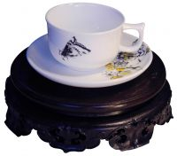 Fine bone china, bone porcelain Chinese teapot sets manufacturer, teapot, cup set