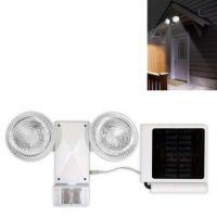 Solar Security Light with Adjustable Motion Sensor