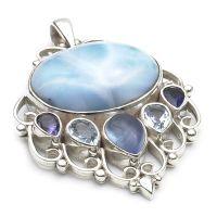Larimar Silver Jewellery