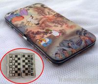 Mini magnetic chess in sports and entertainment.
