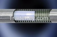 PTFE stainless steel wire braided hoses