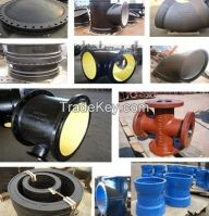 Ductile Iron flange pipe fitting