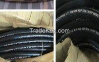 steel wire braided hyraulic  hose