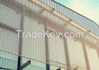 stainless steel  decorative building screen