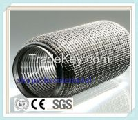 stainless steel corrugated exhaust pipe