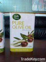 metal olive oil tin can