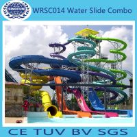 [Sinofun Rides] fiberglass water slide of water park