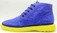 Men casual shoes High cutted Fashion shoes in Blue color