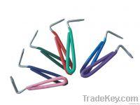 Wire Hoof pick Vinyl Handle 5 1/2