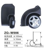 70mm Luggage Plastic Wheel Part