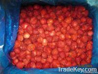Frozen strawberry/ yellow peach