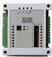 8 channels 0- 5V, 0 -10V, analog inputs, 10 relay outputs , 12bit ADC