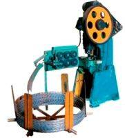 Hot Galvanized Razor Barbed Wire Machine