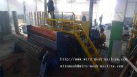 Welded mesh roll machine