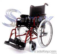 Aluminum Folding Wheel Chair ( Wheelchair )