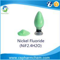 Nickel Fluoride, NiF2.4(H2O), CAS 13940-83-5, Ni, 32%
