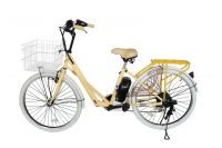 24V/36V city electric bicycle steel frame with PAS hot sell in JAPAN