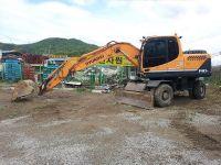 Used Wheeled Excavator