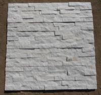 Natural wall decorative white quartz quartzite Culture stone 60x15cm