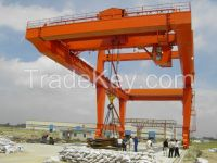 Heavy Duty Double Girder Container Gantry Cranes